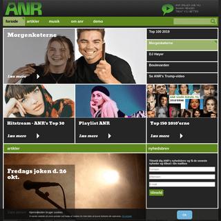 Sjov og udfordrende radio til unge nordjyder - ANR.DK
