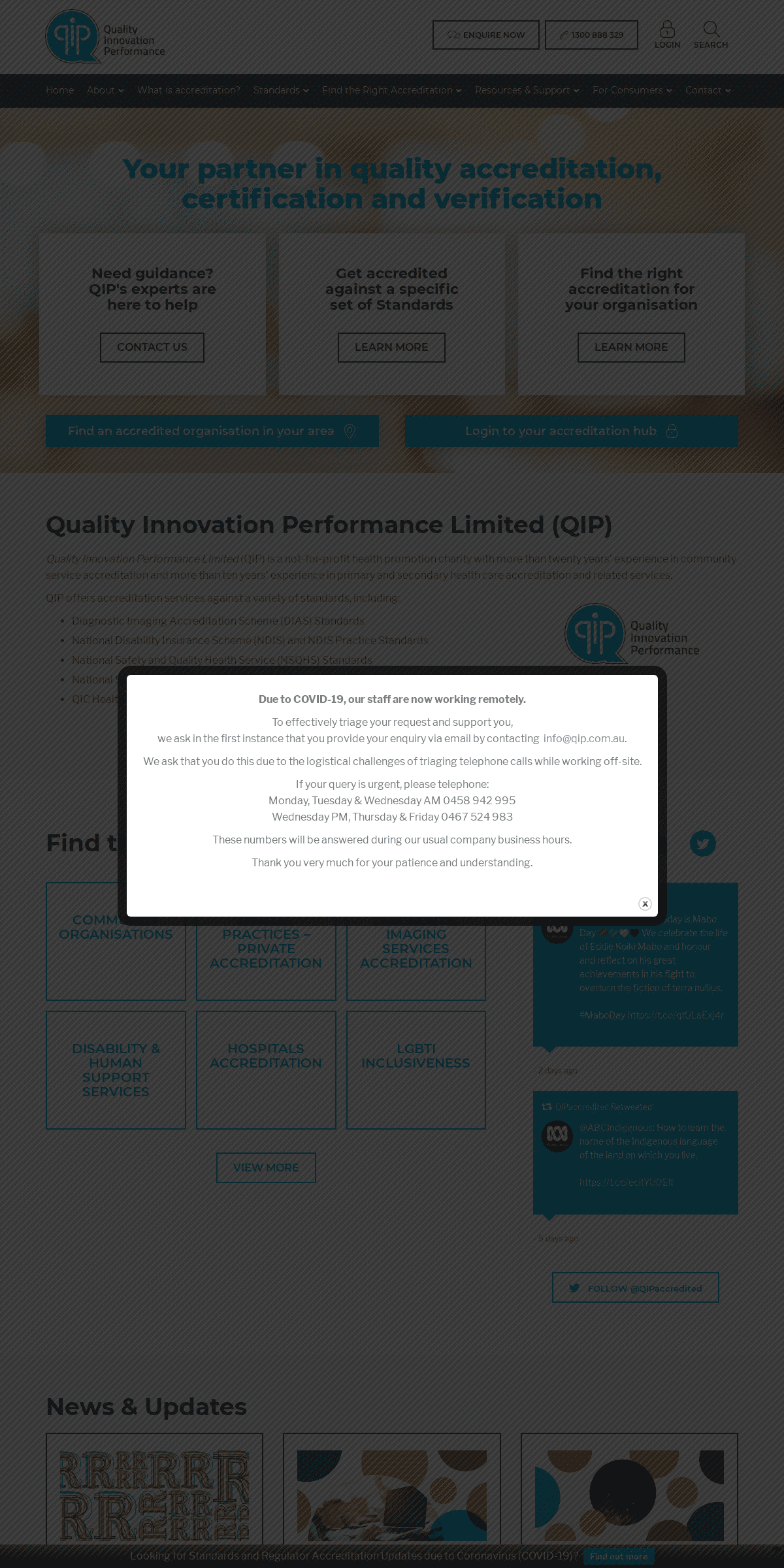 QIP - Quality Innovation Performance Limited