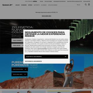 Ropa y zapatillas de deporte - Tienda online de Reebok España