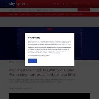 ArchiveBay.com - www.skysports.com/football/man-utd-vs-watford/report/408247 - Man Utd 3 - 0 Watford - Match Report & Highlights
