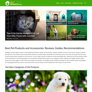Top pet products from the best suppliers- make a choice easier.