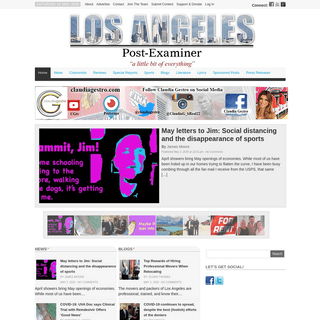Los Angeles Post-Examiner -Los Angeles Post-Examiner