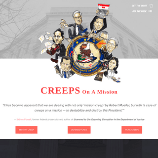 Creeps On A Mission™ by Sidney Powell - Official Website