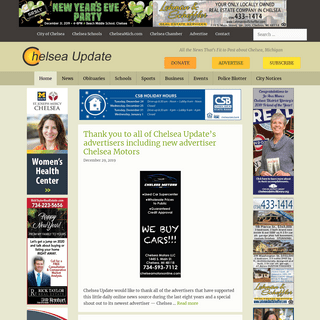 ArchiveBay.com - chelseaupdate.com - Chelsea Update- Chelsea, Michigan, News - All the News That's Fit to Post about Chelsea, Michigan