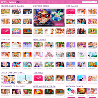 Girls games - Play free online games for girls at girlsgogames.com