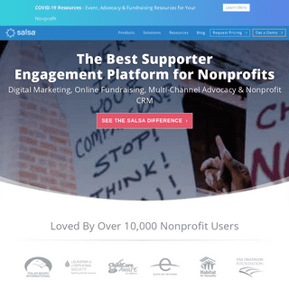 Nonprofit Software- Donor CRM, Fundraising, Advocacy, Marketing