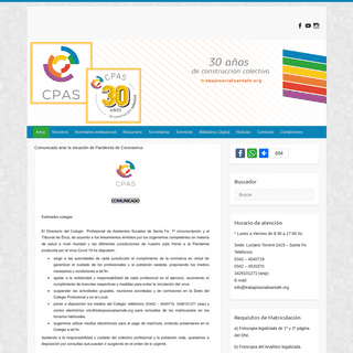 Colegio Profesional de Asistentes Sociales de Santa Fe -