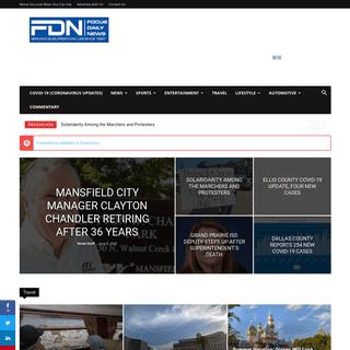 Current News - Focus Daily News