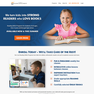 Reading Programs - Institute of Reading Development