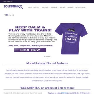 Model Railroad Sound Systems - SoundTraxx