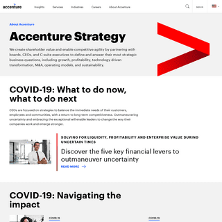 Strategy Consulting Services & Solutions - Accenture
