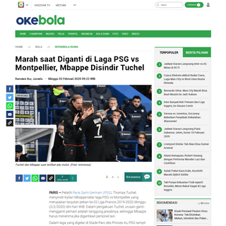 ArchiveBay.com - bola.okezone.com/read/2020/02/02/51/2161998/marah-saat-diganti-di-laga-psg-vs-montpellier-mbappe-disindir-tuchel - Marah saat Diganti di Laga PSG vs Montpellier, Mbappe Disindir Tuchel - Okezone Bola