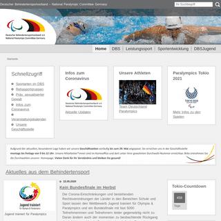 DBS - Deutscher Behindertensportverband – National Paralympic Committee Germany