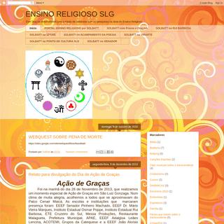 ENSINO RELIGIOSO SLG