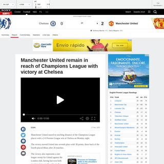 ArchiveBay.com - www.espn.in/football/report?gameId=541590 - Chelsea vs. Manchester United - Football Match Report - February 18, 2020 - ESPN