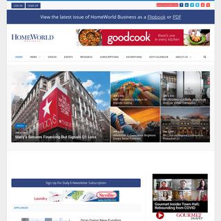 Housewares Industry News Coverage - HomeWorld Business