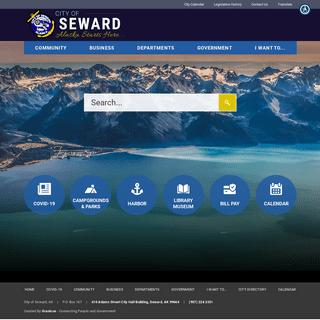 ArchiveBay.com - cityofseward.us - Seward, AK - Home