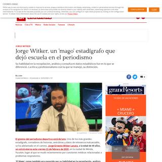 ArchiveBay.com - mexico.as.com/mexico/2020/02/22/tikitakas/1582411577_599592.html - Jorge Witker, un 'mago' estadígrafo que dejó escuela en el periodismo - AS México