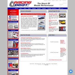 Racing Beat - Mazda Performance Specialists