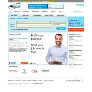 ArchiveBay.com - jobserve.com - IT Jobs, Engineering Jobs, Healthcare Jobs… Find your next job with JobServe