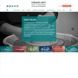 Network Home - Ceramic Arts Network