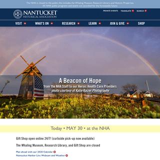 Home - Nantucket Historical Association