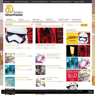 Bandas Desenhadas - Divulgação Banda desenhada, Ilustração e cultura Pop