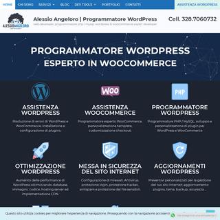 Alessio Angeloro - Programmatore WordPress