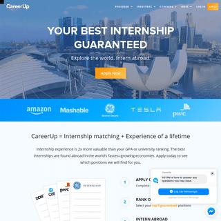CareerUp - Internships Abroad