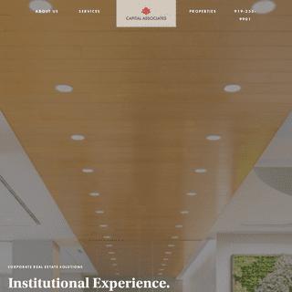 Home - Capital Associates
