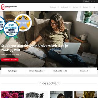 Homepage - Open Universiteit - Open Universiteit