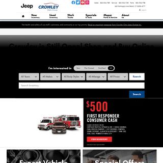 Crowley Chry-Jeep-Dodge Inc - Bristol, CT - New & Used Chrysler Dodge Jeep RAM Dealership
