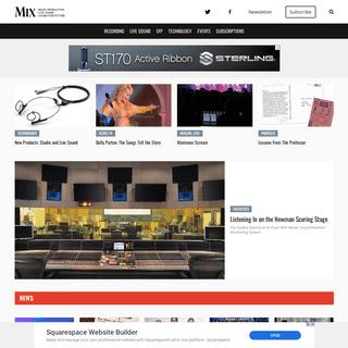 A complete backup of mixonline.com