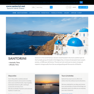 Santorini.net - The comprehensive guide to Santorini, Greece