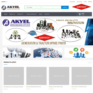 AKYEL - Truck and Tractor Elekctrical Spare Parts AGRITECH AKY