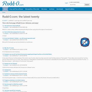 ArchiveBay.com - rudd-o.com - Rudd-O.com- the latest twenty — Rudd-O.com in English