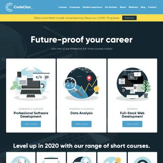Digital Skills & Coding Academy - Edinburgh, Glasgow & Inverness - CodeClan
