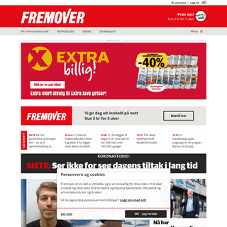 A complete backup of fremover.no