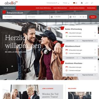 Startseite - Abellio Deutschland