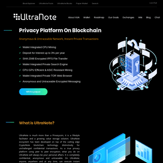 UltraNote - XUN digital cryptocurrency coin