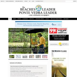ArchiveBay.com - beachesleader.com - The Beaches Leader, Ponte Vedra Leader -