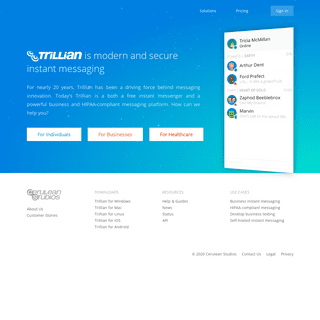 Trillian - Modern and secure instant messaging