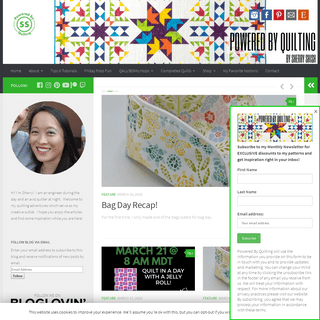 Powered By Quilting – Powered by Quilting- Sherry Shish