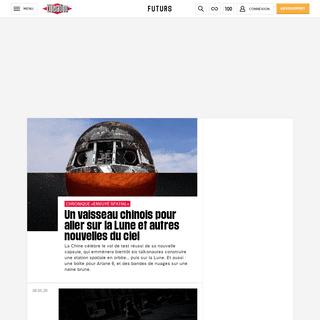 Toute l'actualité futurs et économie avec Libération - Libération