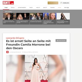 Leonardo DiCaprio- Es ist ernst! Seite an Seite mit Freundin Camila Morrone bei den Oscars - BUNTE.de