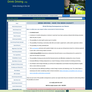 ArchiveBay.com - drinkdriving.org - Drink Driving, Have You Been Caught- – Drinkdriving.org