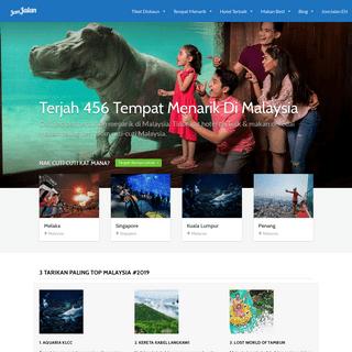 [INFO LENGKAP] 456 Tempat Menarik di Malaysia 2020