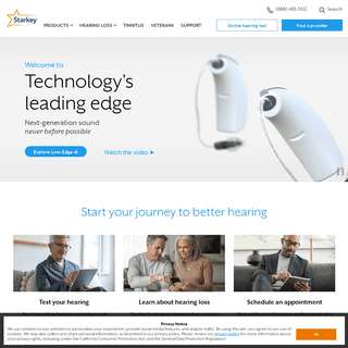 Hearing Aids for Hearing Loss - Starkey Hearing Aids