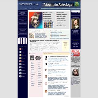 Skyscript- Deborah Houlding's Astrology Pages