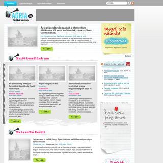Agria.hu - Egri Blog Portál